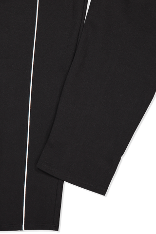 Cuff detail image of French Terry Pull On Pant Black