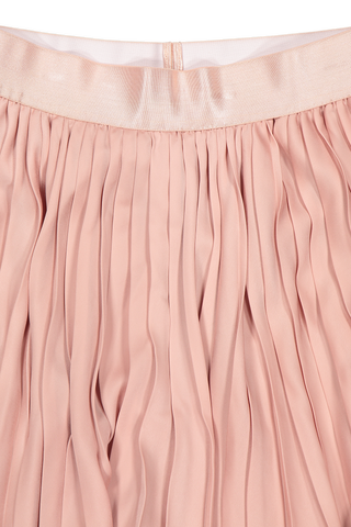 DAPHNE PLEATED SKIRT PUTTY