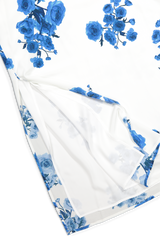 FRIDA DRESS BLUE FLORAL