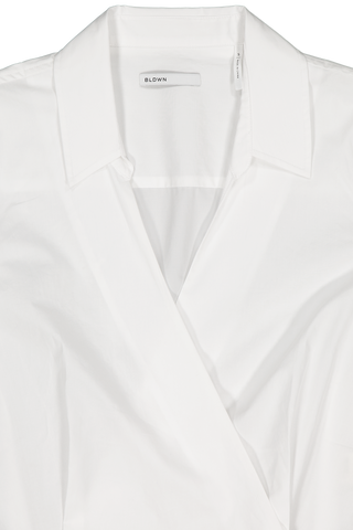 Collar detail image of Baldwin Liv Blouse