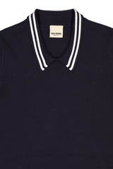 SHORT SLEEVE TAVI POLO NAVY/WHITE