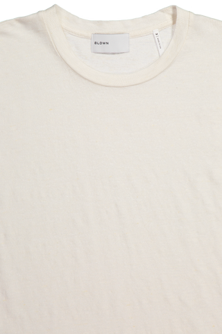 Neck Detail Nolen Solid Linen Tee