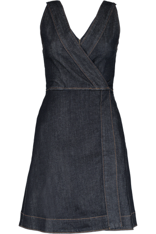 GOLDIE DENIM DRESS RINSE