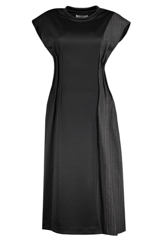 Front image of Base Mark Combination Dress