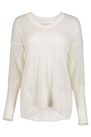 Linen U-Neck Linen Sweater