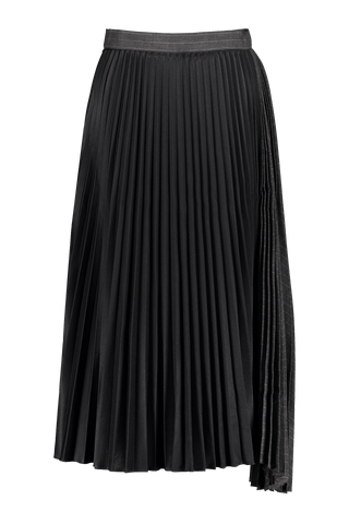 Front view image of Base Mark Pleated Skirt
