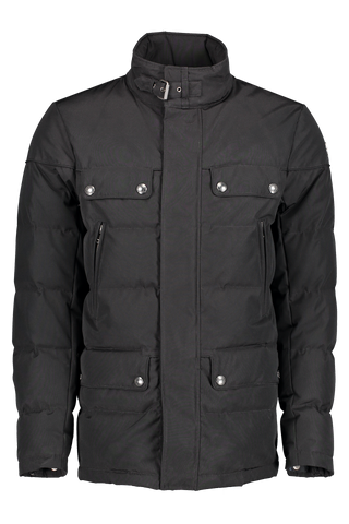 Front image of Belstaff Men's Cotton Twill Mountain Jacket