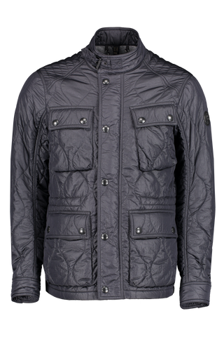 Front image of Belstaff Men's Course Jacket Navy