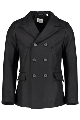 Front view image of Billy Reid Bond Peacoat