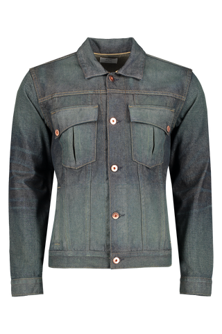 Front view image of Billy Reid Clayton Jacket