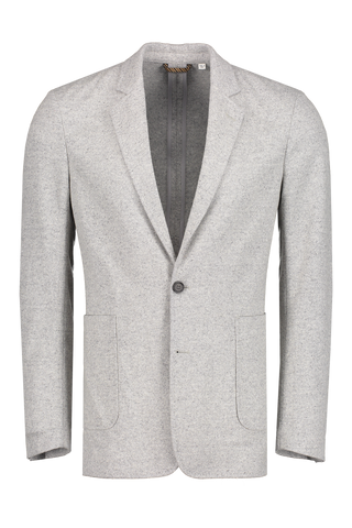 Front view image of Billy Reid Dylan Jacket Grey