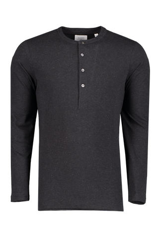 Front view image of Billy Reid Louis Henley Black