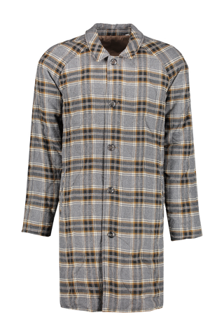 Front view image of Billy Reid Reversible Car Coat