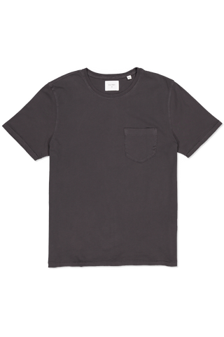 SS WASHED TEE BLACK