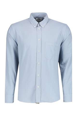 Front view image of Billy Reid Washed Oxford Tuscumbia Shirt