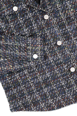 Hemline and cuff detail image of BLDWN Women's Campbell Button Up Top