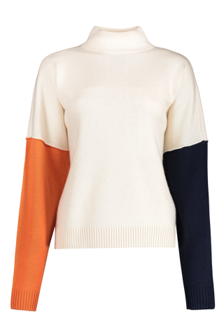 Front view image of BLDWN Women's Cara Turtle Neck