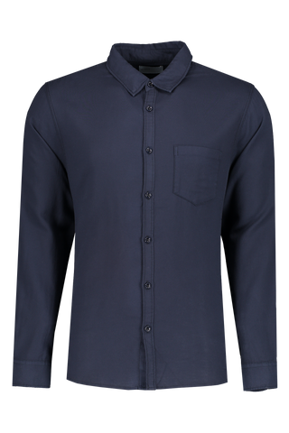 Front view image of BLDWN Men's Cori Shirt Midnight