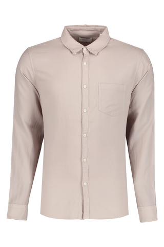 Front view image of BLDWN Men's Cori Shirt Flint Grey