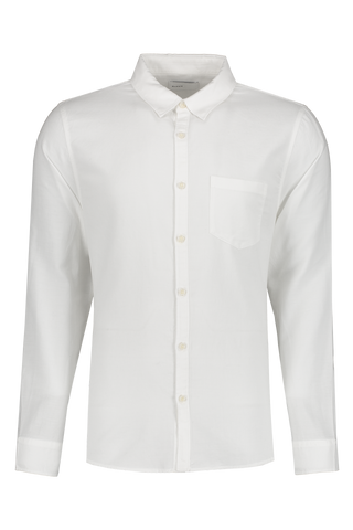 Front view image of BLDWN Men's Cori Shirt White
