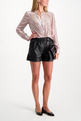 Full Body Image Of Model Wearing BLDWN Women's Easton Short