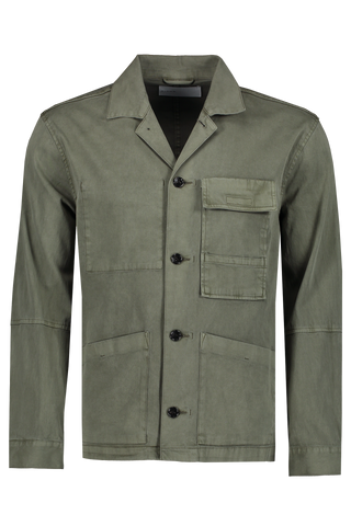 Isaac Button Down Dusty Olive