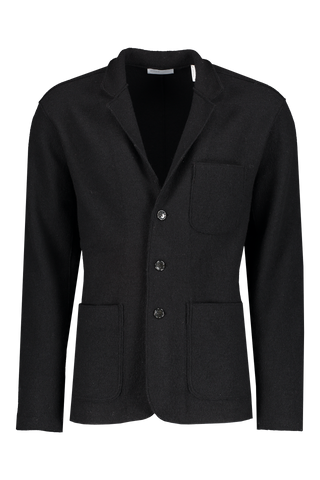 Front view image of BLDWN Men's Jude Sport Coat Black
