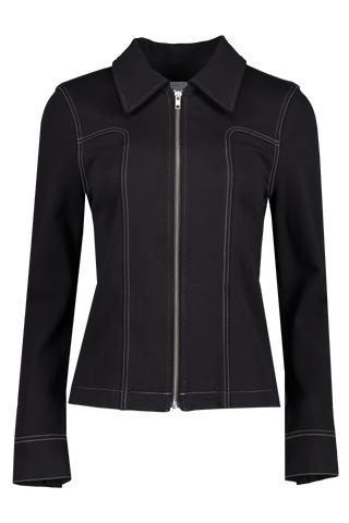 Front view image of BLDWN Women's Layne Jacket Black