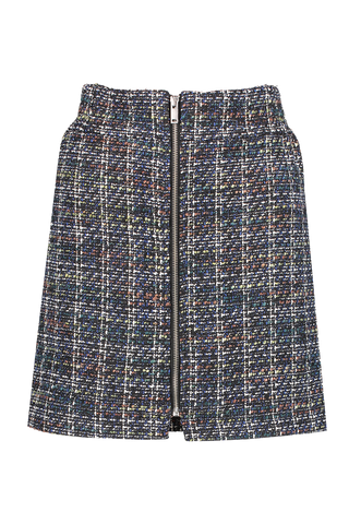 Front view image of BLDWN Women's Milla Zip Skirt