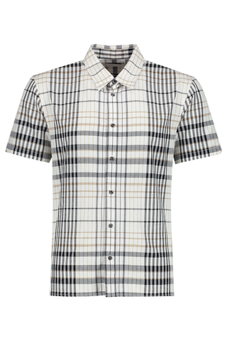 Modern Relaxed Julian Black Plaid