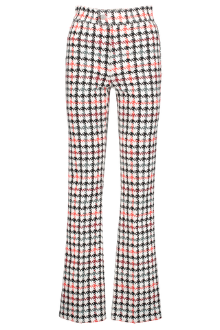 Front view image of BLDWN Women's Piper Houndstooth Pant