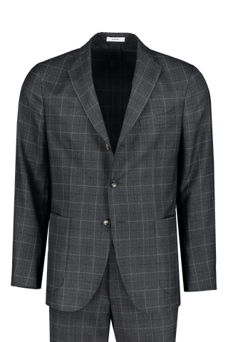 Prince Of Wales Wool Suit