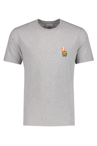 Front view image of Bricktown Green Turtle T-Shirt