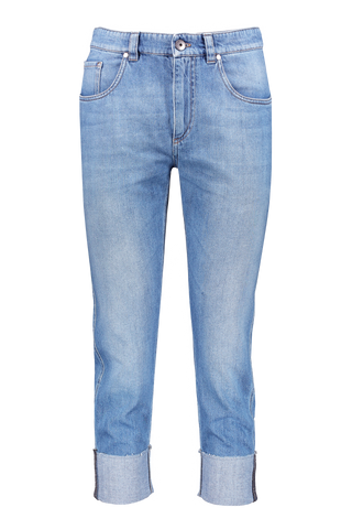 BOYFRIEND DENIM MED WASH