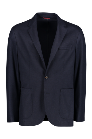 Men's Cashmere Deconstructed Jersey Blazer