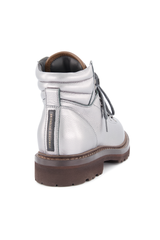 Back angled view image of Brunello Cucinelli Women's Combat Boot