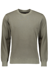 COTTON CREWNECK SWEATER ARMY