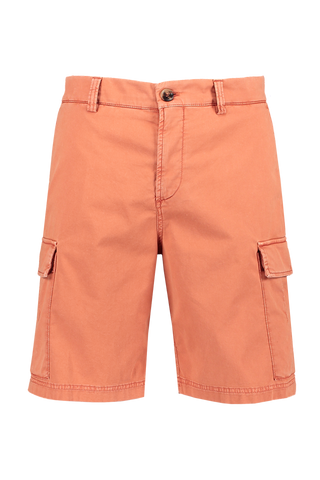 Front view image of Brunello Cucinelli Cotton/Elastan Cargo Shorts