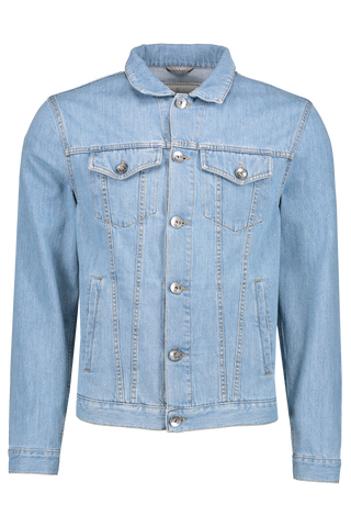 Front Image Denim Trucker Jacket