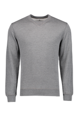 Cotton Sweater Grigio