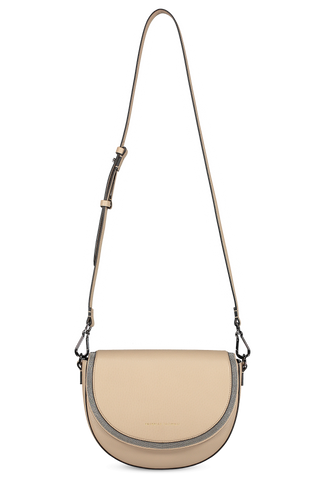 Half Moon Shoulder Bag Dark Beige