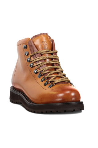 Hiking Boot Leather In Cognac