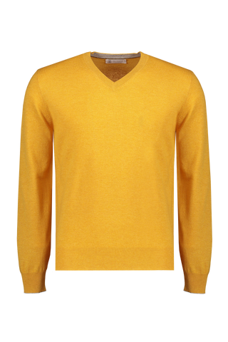 Men's Lightweight Cashmere V Neck Sweater