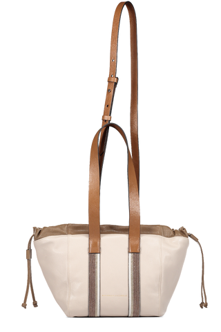 Monili Drawstring Handbag