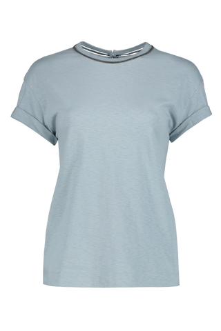 Short Sleeve Monili T-Shirt Mist