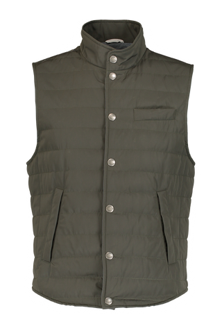 PADDED JACKET GREEN