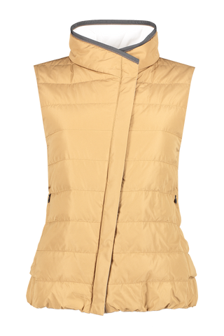 Front view image of Brunello Cucinelli Women's Padded Vest