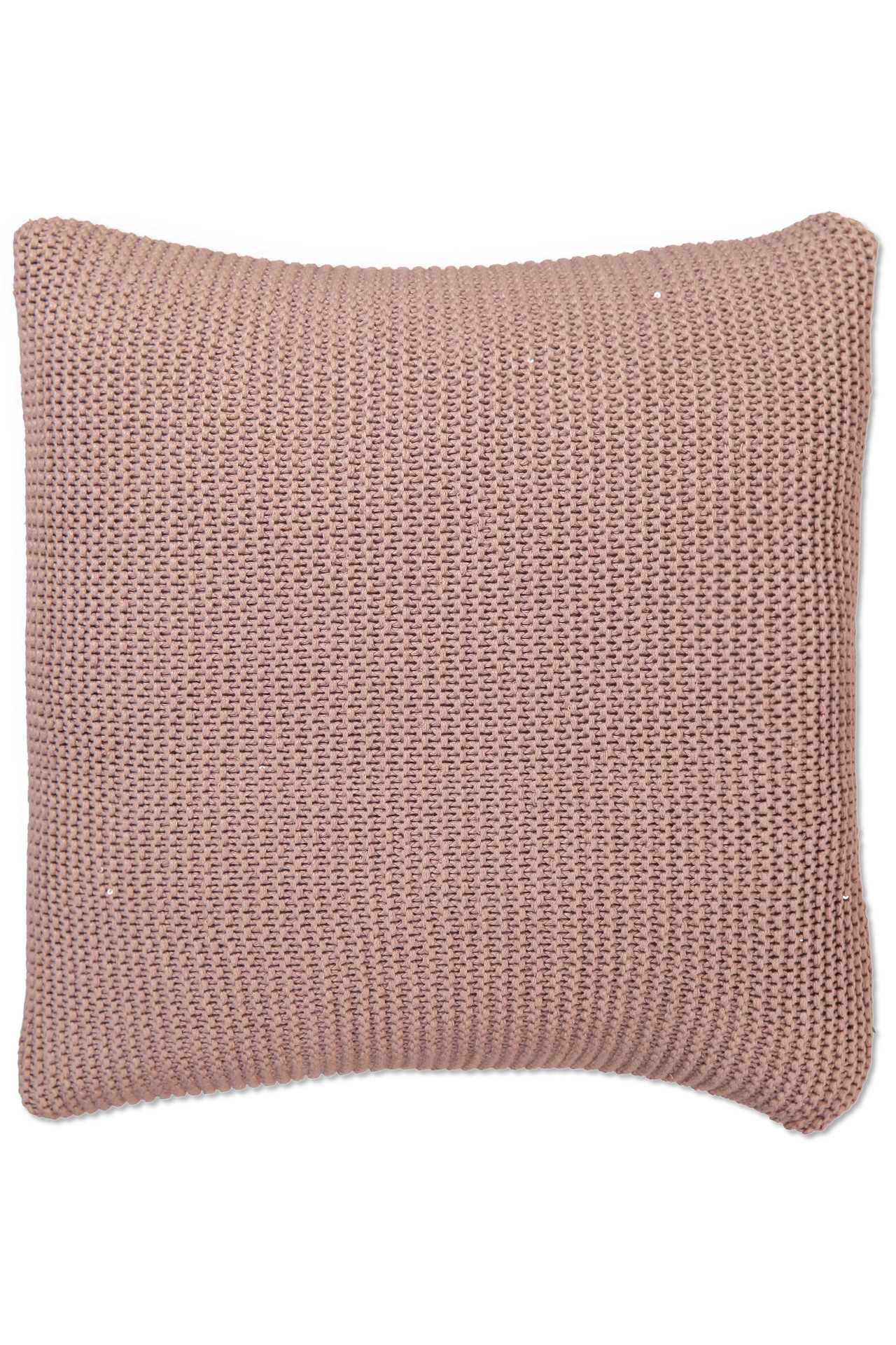 SILK LINEN PILLOW SILVER PINK