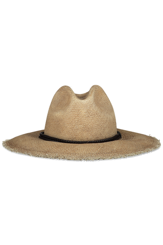 Front view of Brunello Cucinelli Women's Straw Monili Hat