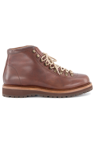 Side view image of Brunello Cucinelli Men's Tobacco Boots